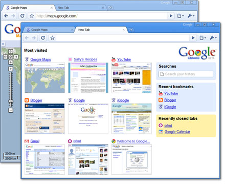 Google Chrome, browser masa depan.