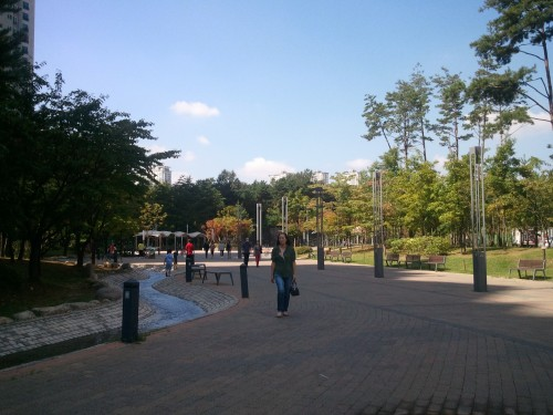 Dongtan's Central Park