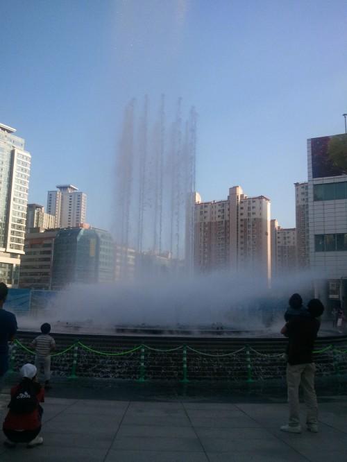 Metapolis Waterfall